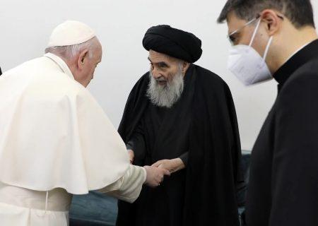 خناسی دراویش در پی دیدار وحدت بخش پاپ با آیت الله سیستانی