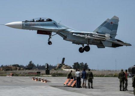 حملات گسترده جنگندههای روسیه به داعش در سوریه