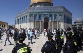 هتک حرمت مسجد الاقصی توسط شهرکنشینان صهیونیست