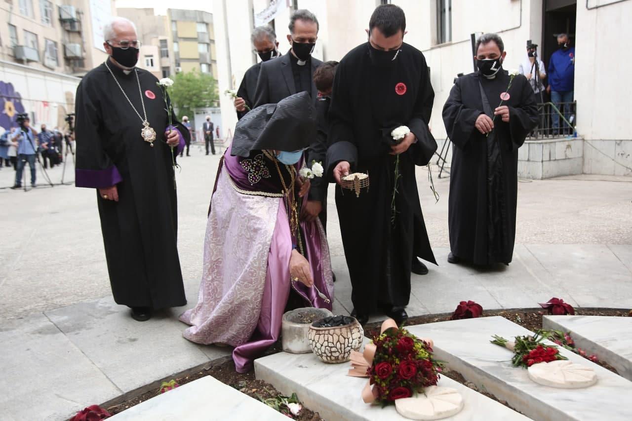 مراسم «صد و ششمین سالگرد نسلکشی ارامنه» در کلیسای سرکیس مقدس