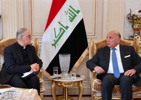 درخواست فواد حسین برای احداث مرکز گفت و گوی ادیان در عراق