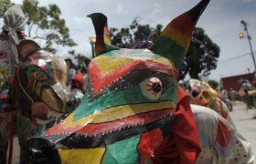 رقص شیاطین در ونزوئلا + فیلم