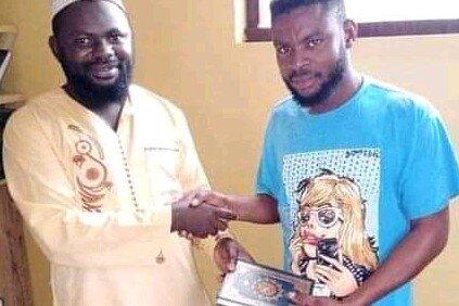 تشرف یک جوان آفریقایی به مذهب تشیع