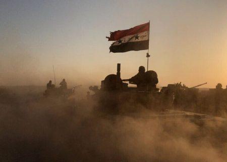 دفع حمله سنگین داعش از سوی ارتش سوریه