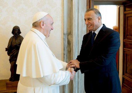 جزییات دیدار نخستوزیر عراق با پاپ