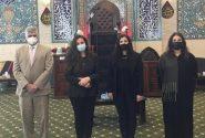 خشم بحرینیها از حضور نامتعارف هیئت آمریکایی در حسینیه شیعیان